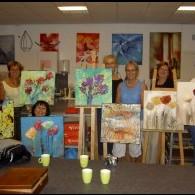 gezellige workshop schilderen