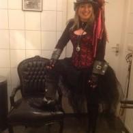 steampunck hoed (niet standaard) met kostuum