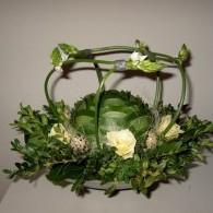 bloemstuk in glas
