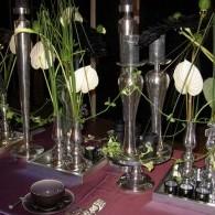bloemen in alluminium