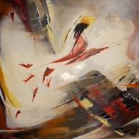 abstract twee-luik