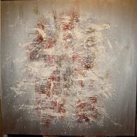 abstract 100x 100 cm