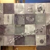 memorij schilderij 150x 100 paars
