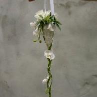 bruidsboeket in zilverdraad frame hang.JPG