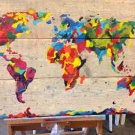 wereld kaart