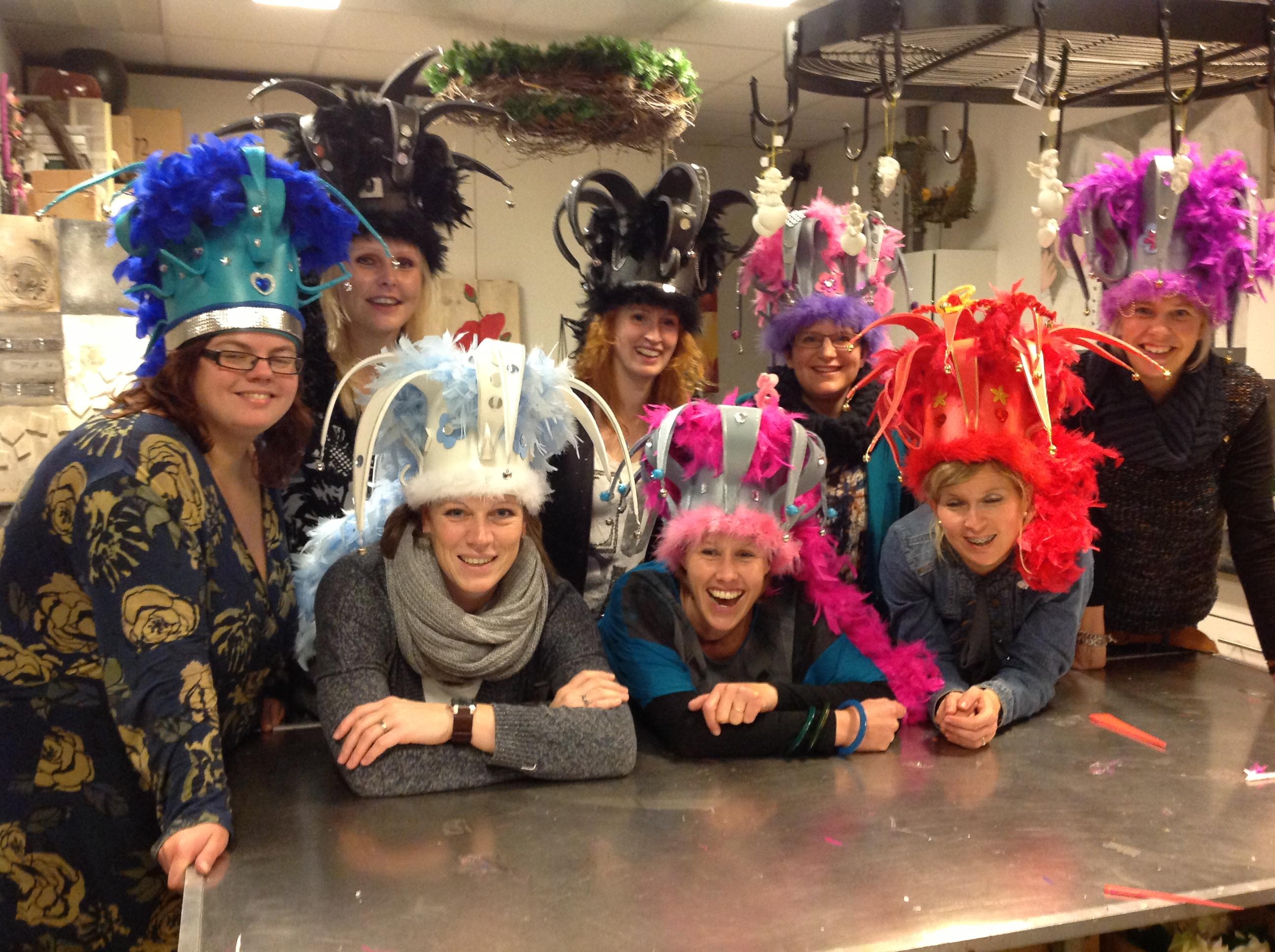 Carnavals-foam hoeden